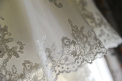 Jasmine Couture Bridal 'T346' size 6 used wedding dress view of trim