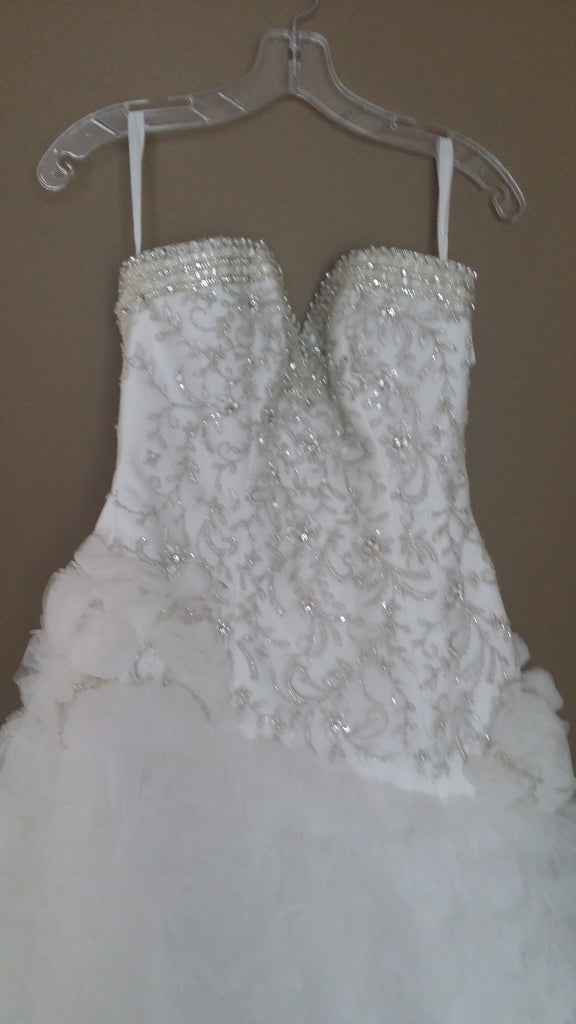 Custom 'Beaded' - Private Collection - Nearly Newlywed Bridal Boutique - 2