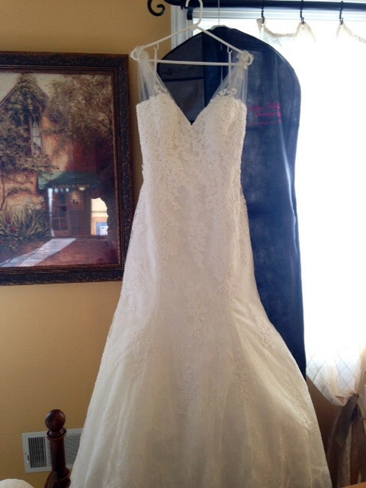 Allure Bridals '2606' - Allure Bridals - Nearly Newlywed Bridal Boutique - 4