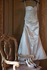 Monique Lhuillier Magical Skirt & Lavender Corset - Monique Lhuillier - Nearly Newlywed Bridal Boutique - 4