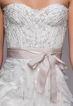 Monique Lhuillier Magical Skirt & Lavender Corset - Monique Lhuillier - Nearly Newlywed Bridal Boutique - 3