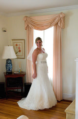 Monique Lhuillier 'Ava' - Monique Lhuillier - Nearly Newlywed Bridal Boutique - 4