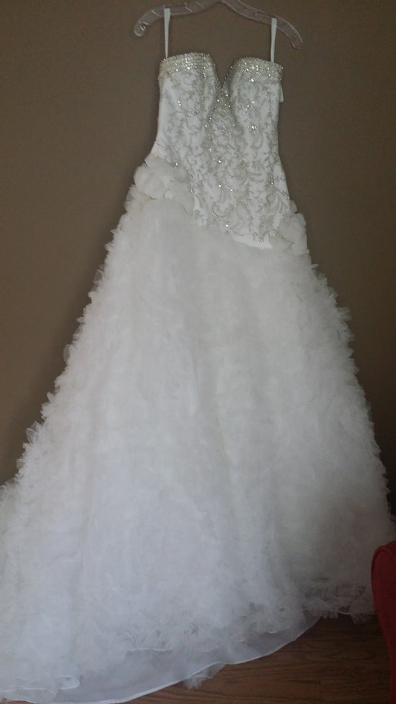 Custom 'Beaded' - Private Collection - Nearly Newlywed Bridal Boutique - 4