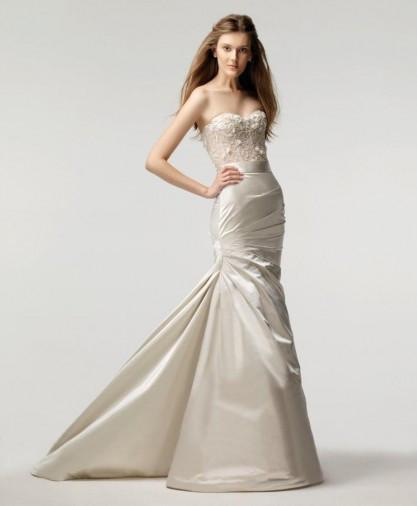 Monique Lhuillier Magical Skirt & Lavender Corset - Monique Lhuillier - Nearly Newlywed Bridal Boutique - 5