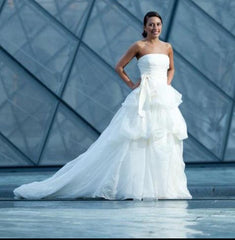 Vera Wang 'Chiffon Dress' - Vera Wang - Nearly Newlywed Bridal Boutique - 1