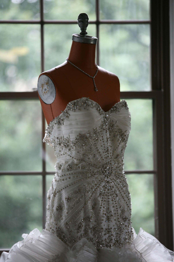 YSA Makino Mermaid Style Wedding Dress - Ysa Makino - Nearly Newlywed Bridal Boutique - 1