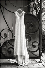 BHLDN 'Petra' size 0 used wedding dress front view on hanger