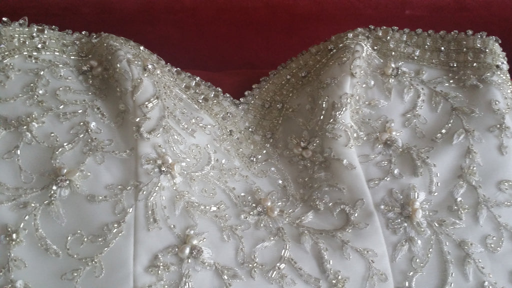 Custom 'Beaded' - Private Collection - Nearly Newlywed Bridal Boutique - 1