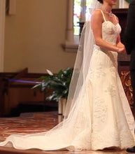 Load image into Gallery viewer, Angel Rivera Custom Re-Embroidered Lace - Angel Rivera - Nearly Newlywed Bridal Boutique - 5