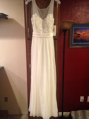 David's Bridal 'Chiffon' - David's Bridal - Nearly Newlywed Bridal Boutique - 1