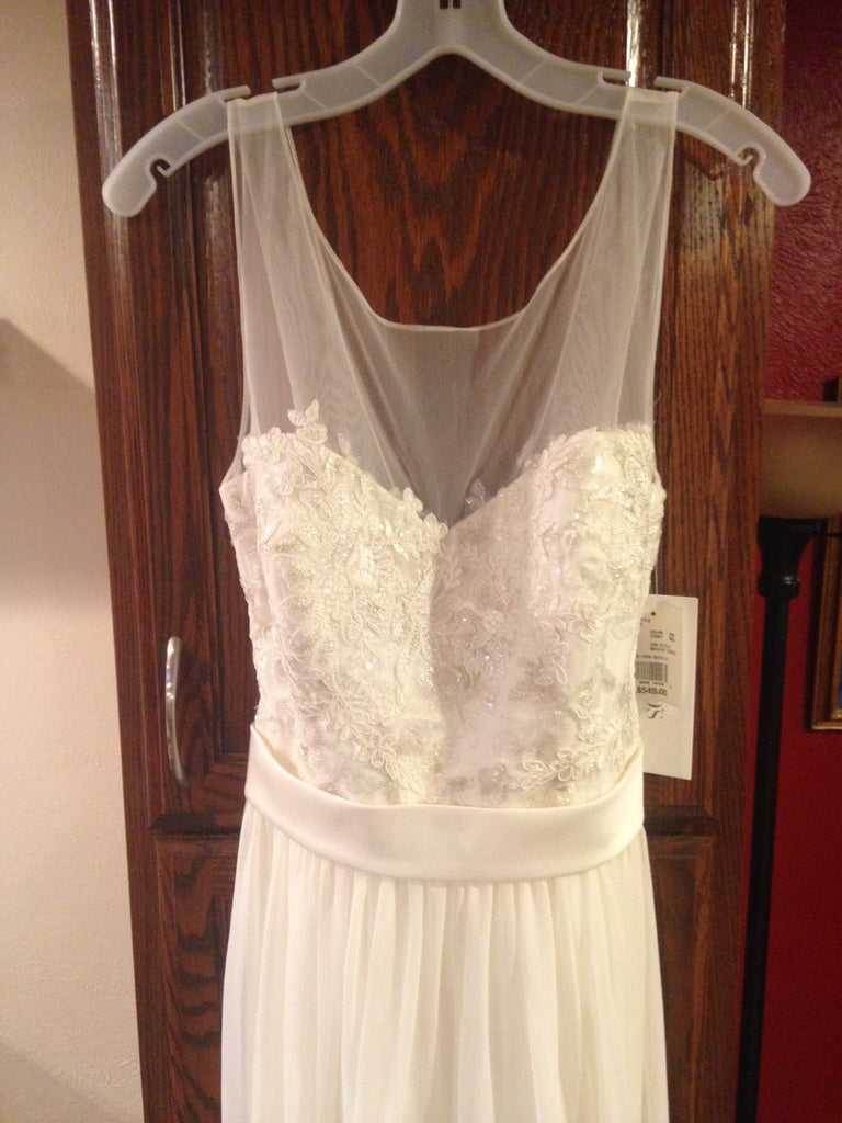 David's Bridal 'Chiffon' - David's Bridal - Nearly Newlywed Bridal Boutique - 2