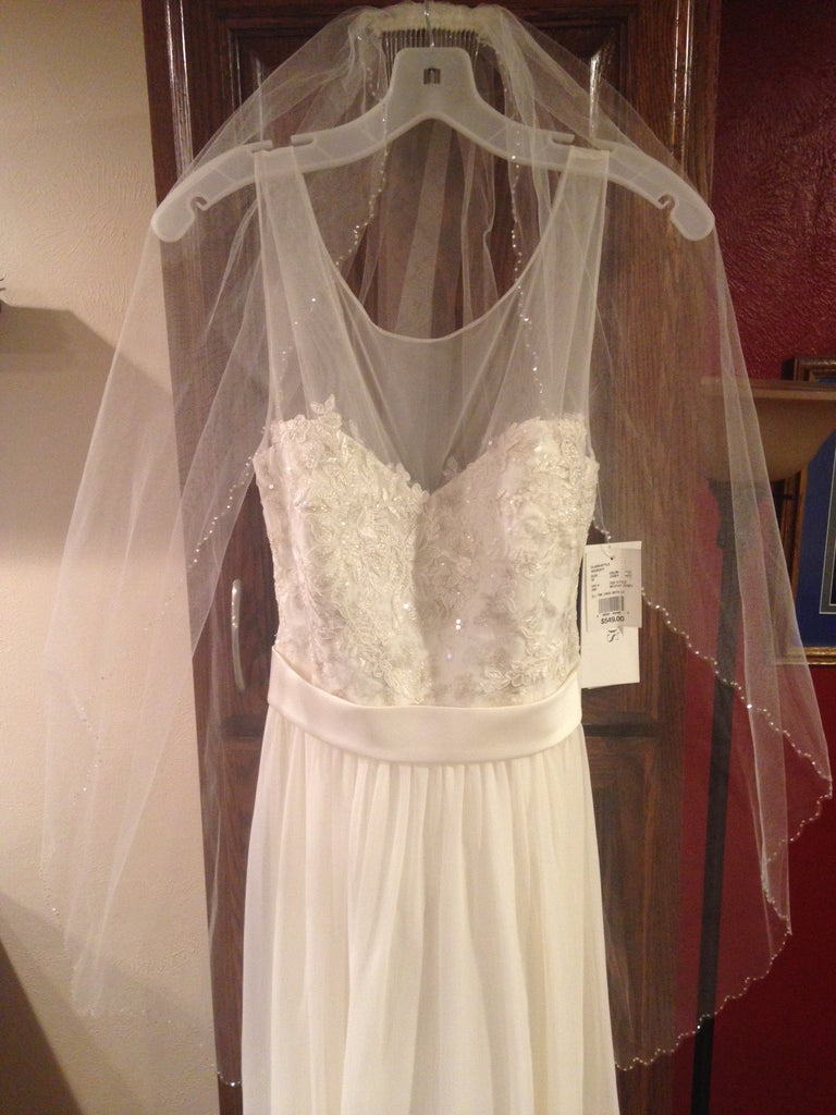 David's Bridal 'Chiffon' - David's Bridal - Nearly Newlywed Bridal Boutique - 3
