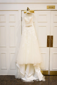 'Unknown' wedding dress size-06 PREOWNED