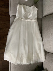 Galina 'WH3858' size 10 new wedding dress front view on hanger