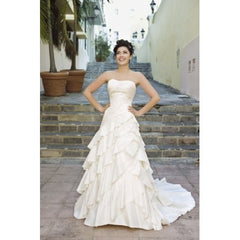 "Demetrios ""Sposabella"" Style #4256 - Demetrios - Nearly Newlywed Bridal Boutique - 3"