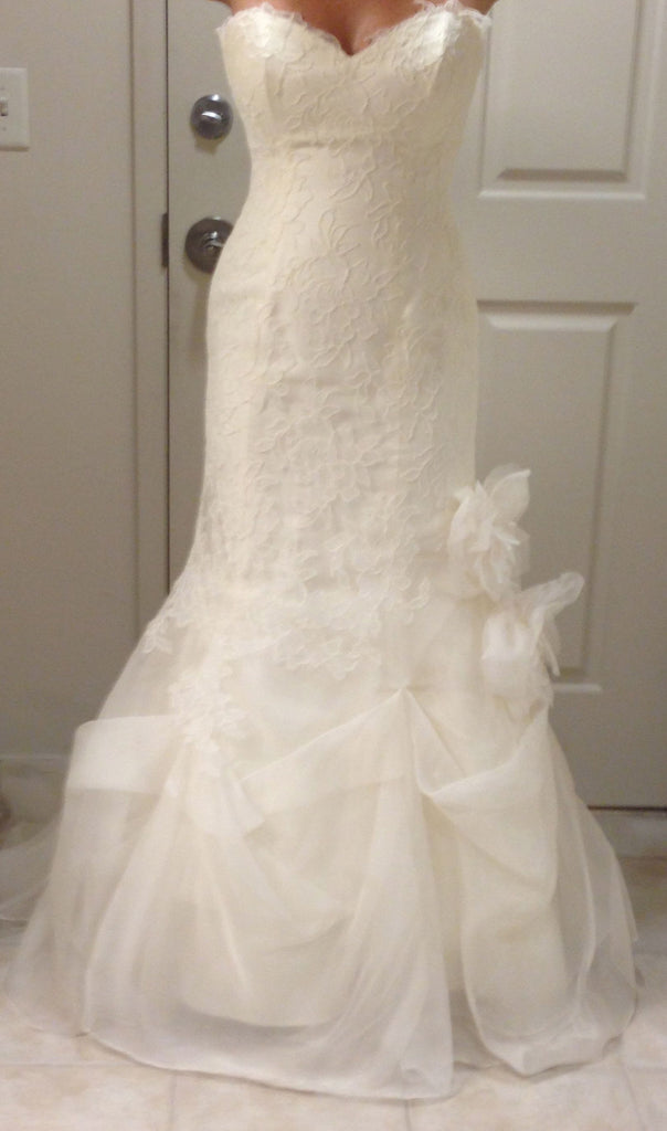 Marisa Style 920 Strapless Lace - Marisa - Nearly Newlywed Bridal Boutique - 1