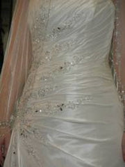 Maggie Sottero A-Line Rachelle Wedding Dress - Maggie Sottero - Nearly Newlywed Bridal Boutique - 1