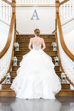 Load image into Gallery viewer, Mori Lee 'Kali' size 6 used wedding dress back view on bride