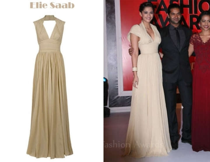 Elie Saab Halter Neck Pleated Silk Gown - Elie Saab - Nearly Newlywed Bridal Boutique - 2