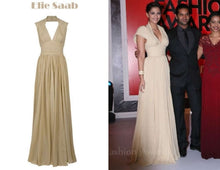 Load image into Gallery viewer, Elie Saab Halter Neck Pleated Silk Gown - Elie Saab - Nearly Newlywed Bridal Boutique - 2