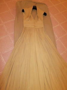 Elie Saab Halter Neck Pleated Silk Gown - Elie Saab - Nearly Newlywed Bridal Boutique - 3