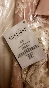Essense of Australia 'D2205' size 12 new wedding dress front view of tag