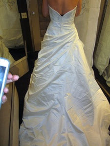 Simone Carvalli 90148 Strapless Wedding Dress - Simone Carvalli - Nearly Newlywed Bridal Boutique - 3
