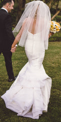 Kirstie Kelly 'Vienna' size 2 used wedding dress back view on bride