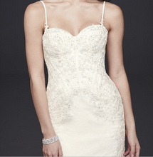 Load image into Gallery viewer, Galina Signature 'SWG690' size 2 new wedding dress front view close up