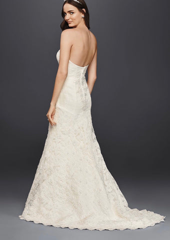 Oleg Cassini 'Sweetheart Beaded Lace'