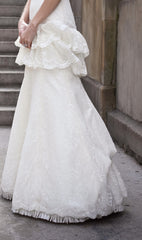 Priscilla of Boston Platinum STYLE PL163 Wedding Dress - Priscilla of Boston - Nearly Newlywed Bridal Boutique - 5