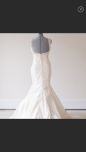 Load image into Gallery viewer, Ines Di Santo 'Aubergine' size 12 used wedding dress back view on mannequin