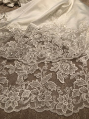 Sophia Tolli 'Y21820' size 10 new wedding dress view of lace