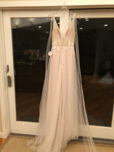 Load image into Gallery viewer, Floravere 'B. Morisot' size 6 sample wedding dress back view on hanger