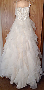 Paloma Blanca Style #4116 - Paloma Blanca - Nearly Newlywed Bridal Boutique - 4