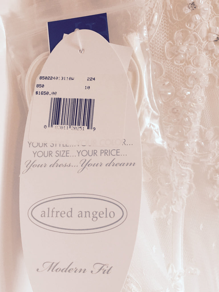 Alfred Angelo 'Sapphire' - alfred angelo - Nearly Newlywed Bridal Boutique - 4