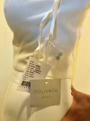 Amsale 'Audrey' size 6 new wedding dress view of tags