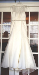Augusta Jones 'Annalize' Organza Gown - Augusta Jones - Nearly Newlywed Bridal Boutique - 1