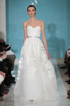 Reem Acra 'Heavenly Lace' - Reem Acra - Nearly Newlywed Bridal Boutique - 1