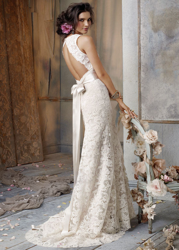 Jim Hjelm '8011' - Jim Hjelm - Nearly Newlywed Bridal Boutique - 1