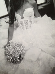 Pnina Tornai Kleinfeld Style 4152 Wedding Dress - Pnina Tonai - Nearly Newlywed Bridal Boutique - 4
