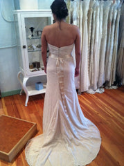 Ivy & Aster Violet Strapless Wedding Gown - Ivy & Aster - Nearly Newlywed Bridal Boutique - 2