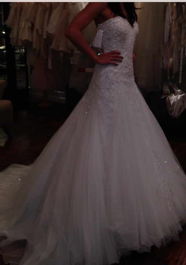 Rosa Clara 'Marina' Style 7A135 - Rosa Clara - Nearly Newlywed Bridal Boutique - 4
