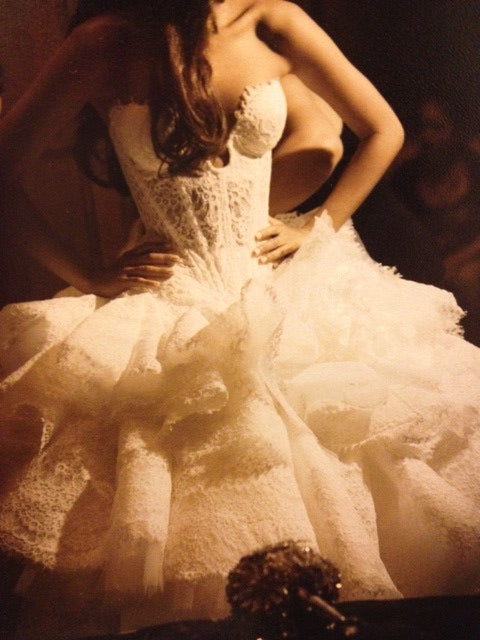Pnina Tornai Kleinfeld Style 4152 Wedding Dress - Pnina Tonai - Nearly Newlywed Bridal Boutique - 2