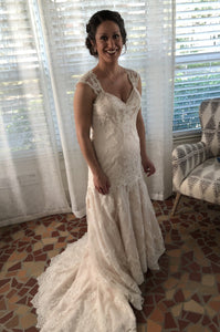 Casablanca Bridal 'Sea Breeze 2195'