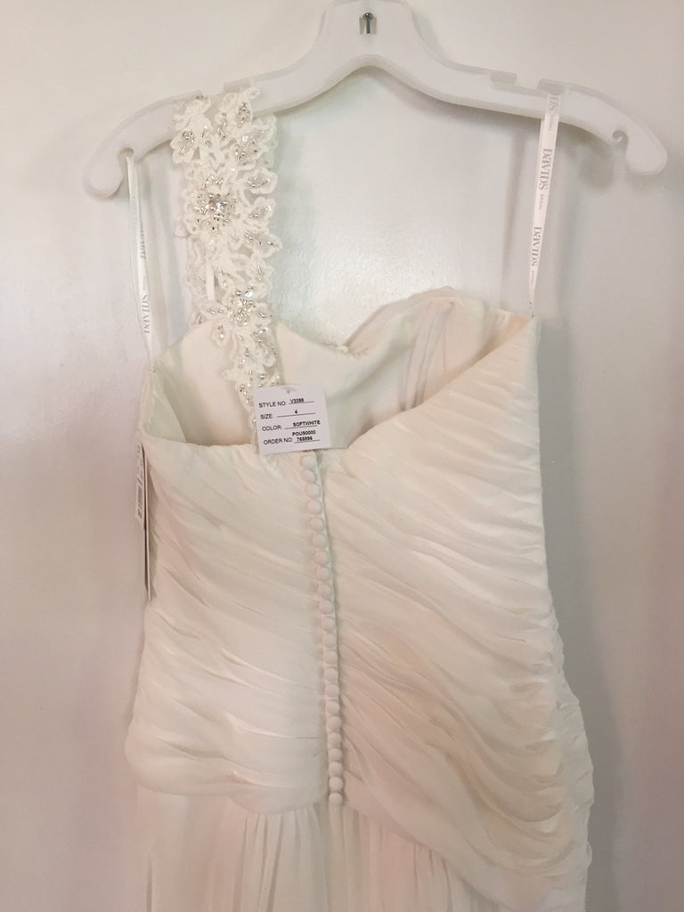 David's Bridal 'One Shoulder' - David's Bridal - Nearly Newlywed Bridal Boutique - 1