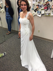 David's Bridal 'One Shoulder' - David's Bridal - Nearly Newlywed Bridal Boutique - 2