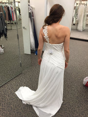 David's Bridal 'One Shoulder' - David's Bridal - Nearly Newlywed Bridal Boutique - 3