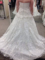 Oleg Cassini 'Strapless Ballgown' - Oleg Cassini - Nearly Newlywed Bridal Boutique - 1