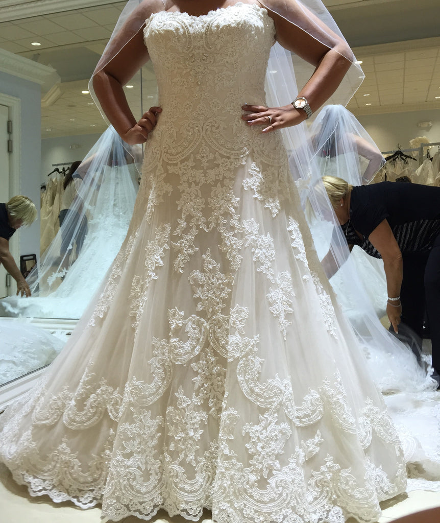 David Tutera Mon Cheri 'Justice' - david tutera for mon cheri - Nearly Newlywed Bridal Boutique - 2